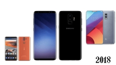 Les smartphones attendus en 2018